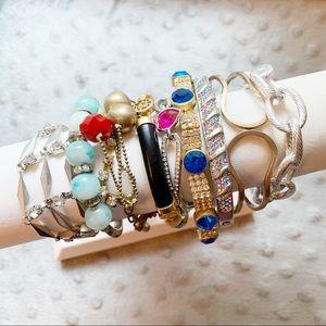 Jewelry - Bracelet lot junk drawer VTG and modern styles